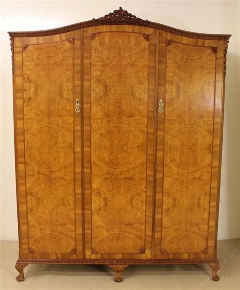 queen anne bedroom suite burr walnut 6 piece queen anne bedroom suite antiques atlas