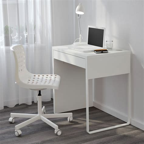 Small White Student Desk Bedroom Furniture Dual Computer Desk For Home Discount Office Within Small White Student Desk