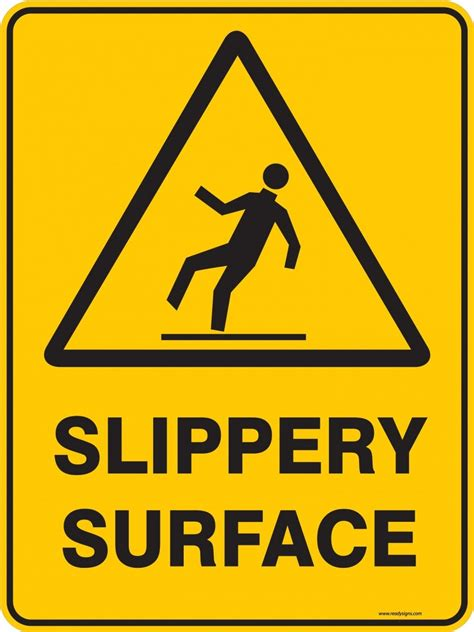 slipper sign the gallery for gt slippery surface sign