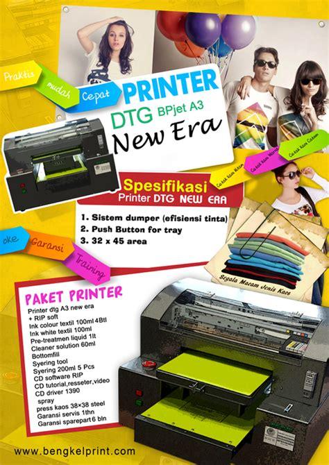 Harga Mesin Sablon Kaos Merk Epson printer dtg a3 new era mesin dtg printer dtg surabaya