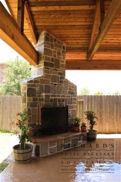 Outdoor Pits And Fireplaces by Patio Pit In Corner Search Decks Outdoor Fireplaces Patio