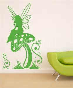 Flower Fairies Wall Stickers fairy decals for walls fairy dandelion wand wall decal