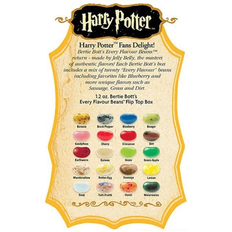Bertie Botts Every Flavor Beans Box
