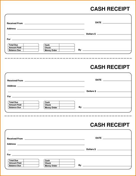 zen planner receipt template 8 receipt expense report