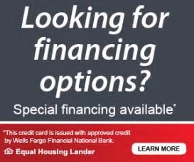 financing options mohawk heating company inc