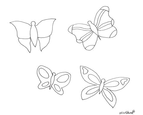 butterfly metamorphosis coloring pages how to draw life cycle