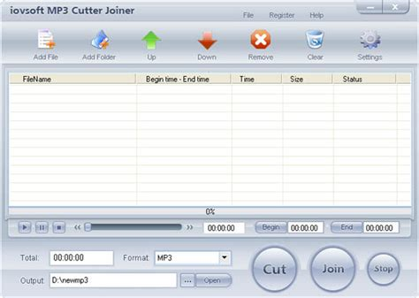 download mp3 cutter and joiner for windows 8 pc iovsoft mp3 cutter joiner 6 5 8 free download