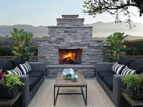 eldorado outdoor fireplace outdoor living eldorado