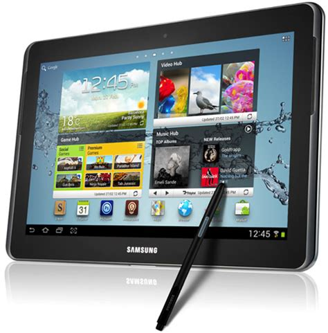 Samsung Tab Note 2 samsung galaxy note 10 1 tablet review hothardware