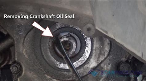 replace  automotive engine front crankshaft seal