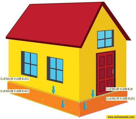 creating a home learn how to create a 3d house vector in illustrator entheos