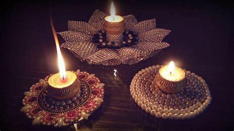 diwali decoration ideastealight candle holderhow