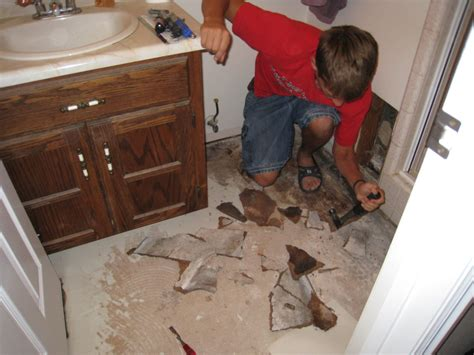 how to remove retile a retiling the bathroom