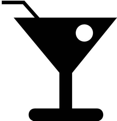 cocktail clipart black and white cocktail clip at clker com vector clip