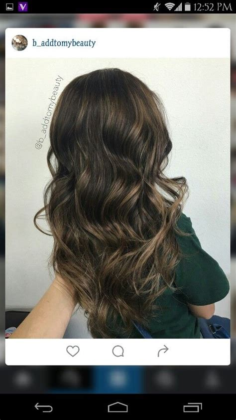 partial highlight pattern curly hair light carmel partial highlights hair colors pinterest