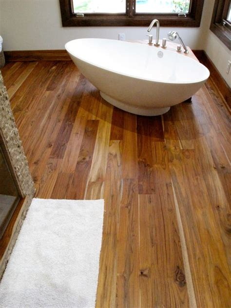 rustic bathroom flooring pacific coast teak rustic grade teak flooring