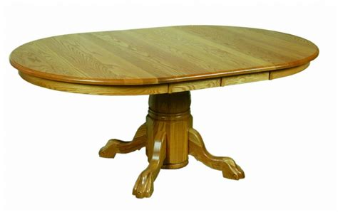 amish dining room table amish pedestal dining room table
