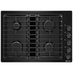 Gas Cooktop With Downdraft Jgd3430gb Jenn Air 30 Quot Downdraft Gas Cooktop Black On