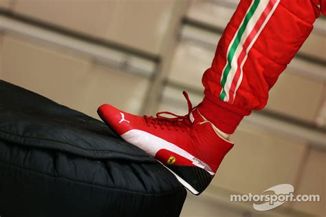 Puma racing boot of Felipe Massa, Ferrari at Chinese GP