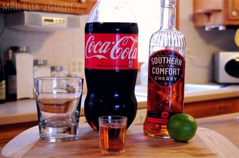 Southern Comfort And Coke by Southern Comfort Coke With Lime
