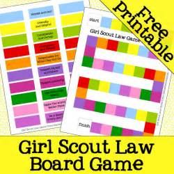Girl scout law game