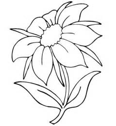 beautiful flower coloring pages pretty flower coloring pages