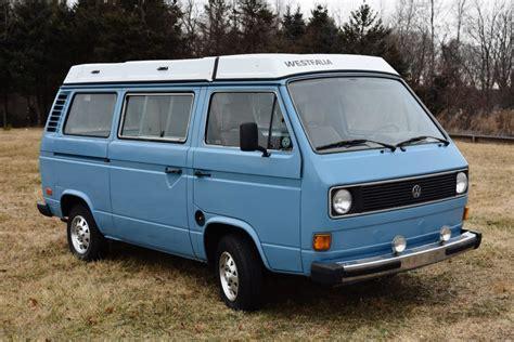 volkswagen vanagon blue 1981 volkswagen vanagon westfalia for sale on bat auctions