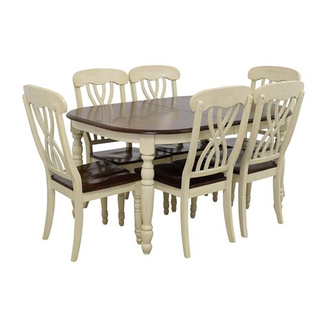 extendable dining sets 50 off extendable wood dining table with chairs tables