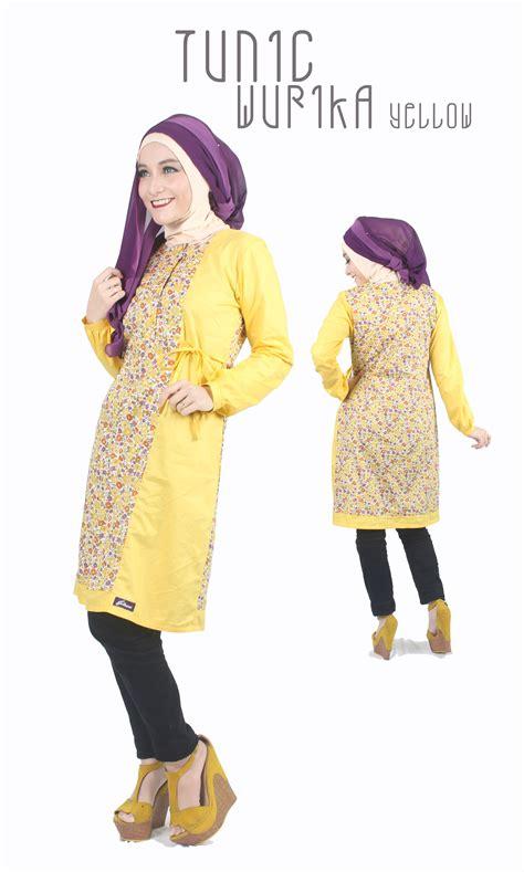 Tunik Katun Premium 030 High Quality jual tunik muslim baju muslim atasan muslim tunik katun
