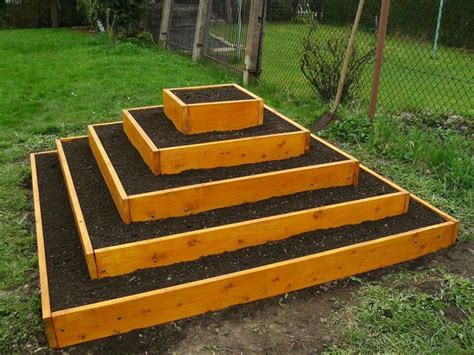 how to build raised garden bed how to build a killer pyramid raised garden bed