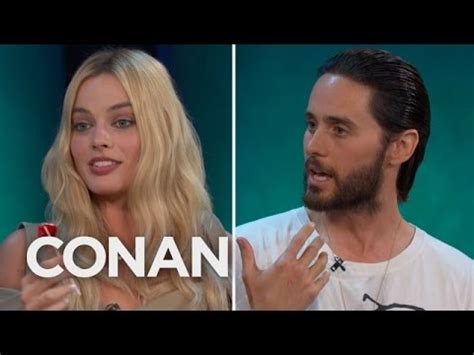 Jared Leto Margot Robbie Got Shaved Down For Quot Suicide Squad Quot Conan On Tbs Youtube