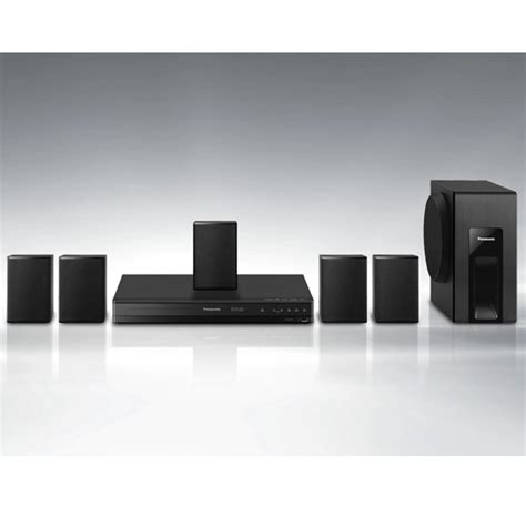 Home Theater Panasonic panasonic home theater system sc xh105 black 5 1 surround sound upconvert dvds to