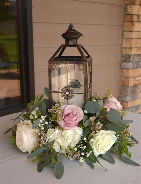 I Liked This One The Lantern Is Visible And The Flowers Wedding Centerpieces Not Flowers