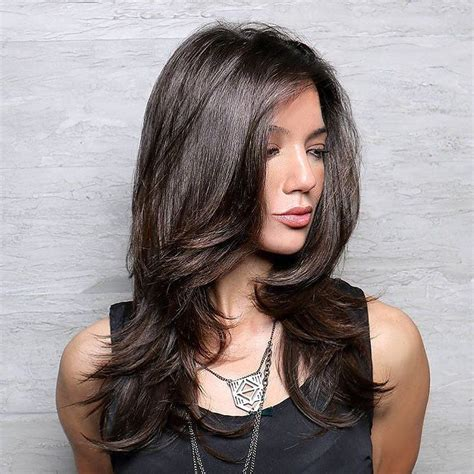 long layered haircut blow dry with lots of volume 25 stunning brazilian blowout hairstyles unbelievable