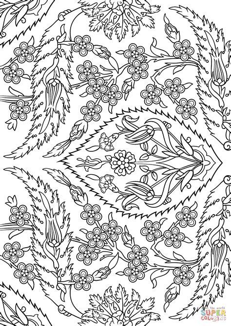 mosaic turkey coloring page turkish tiles coloring page free printable coloring pages