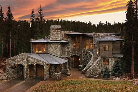 log cabin luxury homes colorado luxury mountain homes summit county log property