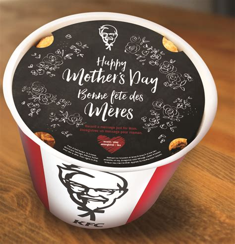Kfc S Day Special Your Not So Typical Mother S Day Gift Idea Kfc