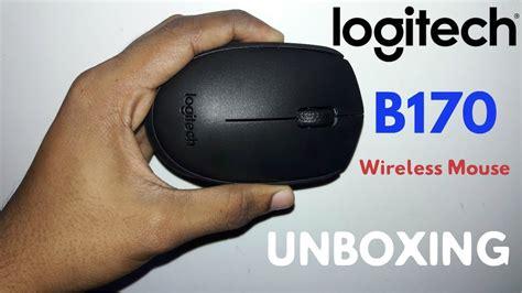Logitech Wireless Mouse B170 logitech b170 wireless mouse unboxing