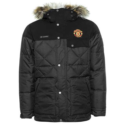 Jaket Playmaker Waterproof Manchester United Black manchester united x columbia jacket barlow pass 550