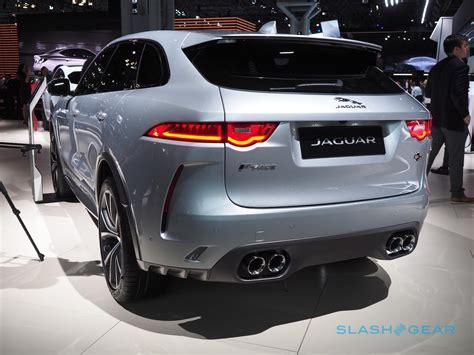 2019 Jaguar F Pace Changes by 2019 Jaguar F Pace Svr Gallery Slashgear