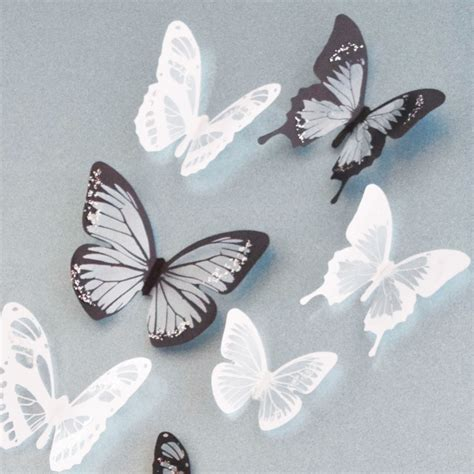 How To Make Paper Butterflies For Wall - paper butterfly wall decor decor ideasdecor ideas
