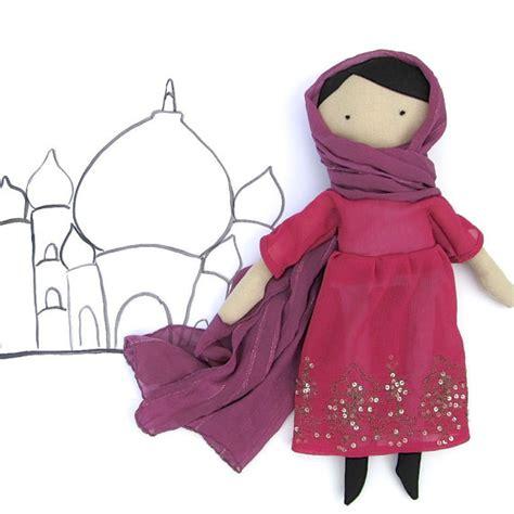 hijab doll pattern muslim girl doll pdf sewing pattern dress up doll by