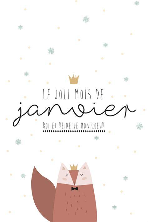 Calendrier Carte Calendrier Du Mois De Janvier 224 Imprimer La Vie En Plus Joli