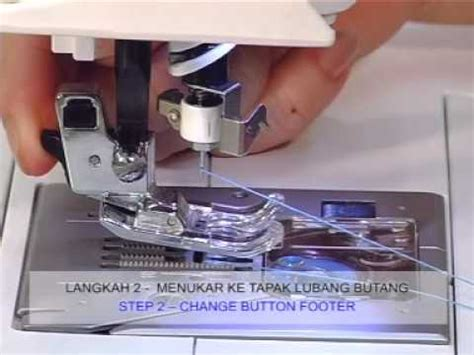 Sepatu Flower Stitch Attachment Foot Merk Singer Mesin Jahit Portable demo mesin jahit singer butterfley typical janome dan funnycat tv