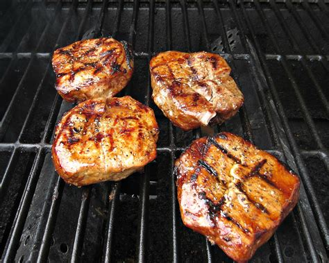marinated grilled pork chops love to be in the kitchen