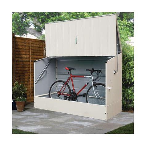 Outdoor Bike Storage Shed by 25 Best Ideas About Bike Locker On Garden