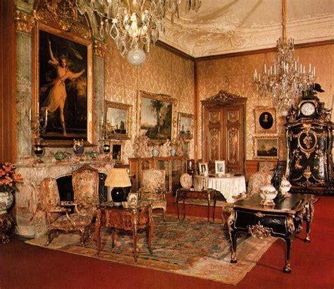 Manor Interiors by The Morning Room Waddesdon Manor Buckinghamshire