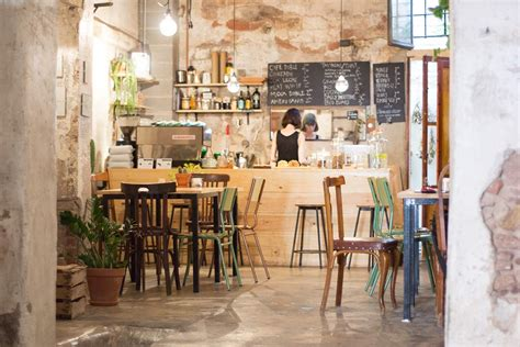 Character Tables 13 Best Coffee Shops In Barcelona 2018 Hipster Design
