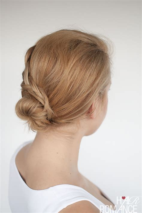 hairstyles job games upskill your work bun with this simple braid tutorial