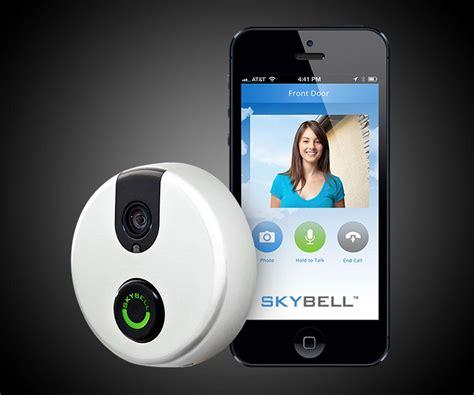 Wifi Doorbell skybell wi fi doorbell dudeiwantthat